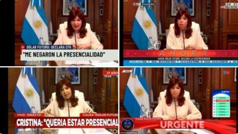 Cristina habló en cadena nacional y estallaron los memes