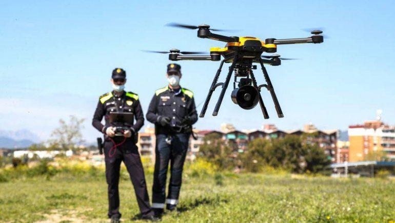 España: piensan en usar drones para hacer prevención