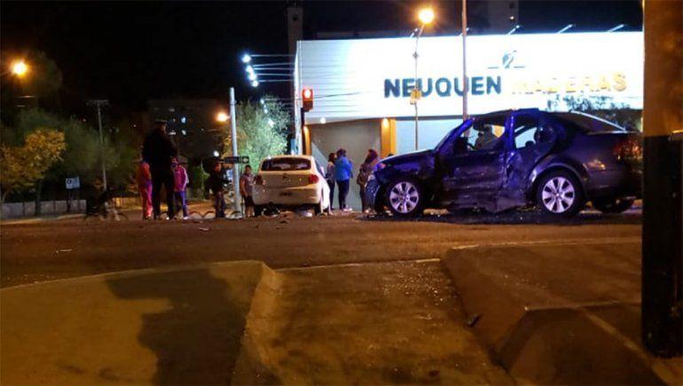 Violento accidente: iba borracho, cruzó en rojo y mató a otro conductor