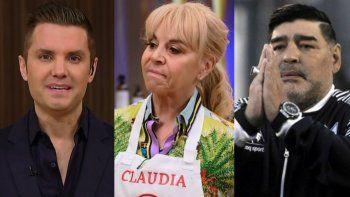 Bomba: tras la muerte de Maradona, ¿sigue Claudia en MasterChef?