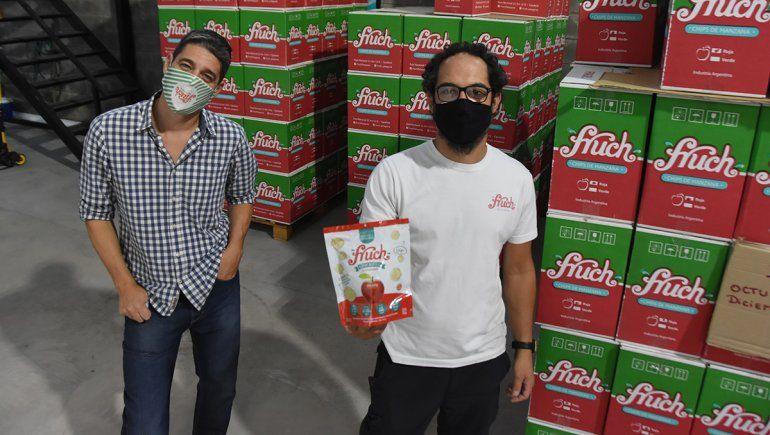 Fruch: soñaron 15 años y abrieron su fábrica en pandemia