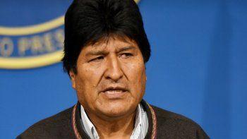 Evo Morales afirmó que hay pruebas que involucran a Macri en el golpe de Estado