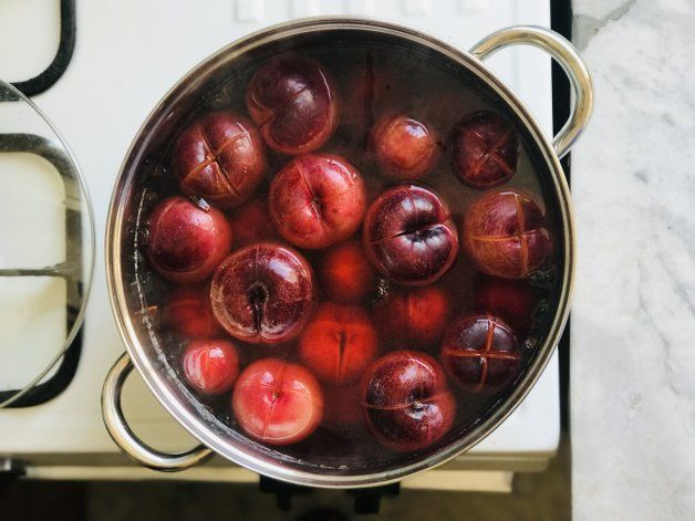 Compota de ciruelas, receta fácil y rica