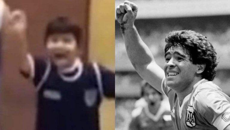 Dieguito Fernando es el hijo menor de Maradona