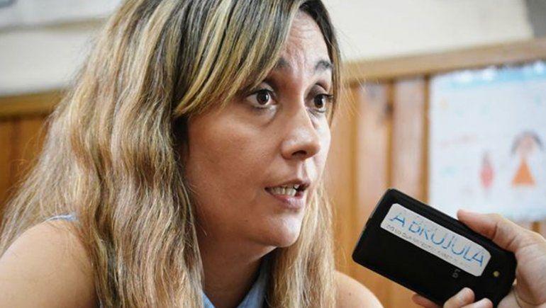 Letizia Tamboribdeguy , integrante del equipo interdisciplinario de la Comisaría de la Mujer, radicó la denuncia