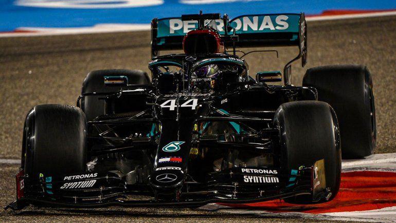 Hamilton fue la referencia del viernes de la Fórmula 1 en Bahrein