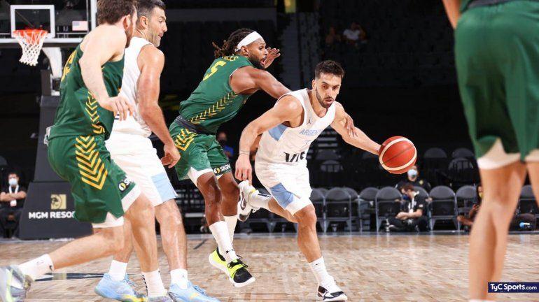 Argentina-Australia, el que gana queda a tiro de medalla: hora y TV del básquet