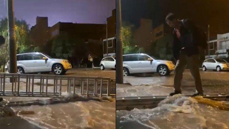 Las impactantes imágenes captadas por los neuquinos de la tormenta