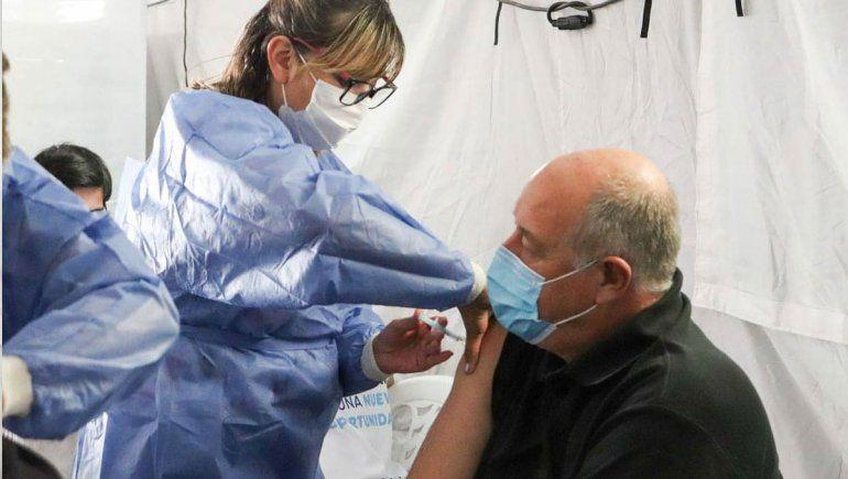 COVID: la ex U9 se sumó como centro de vacunación