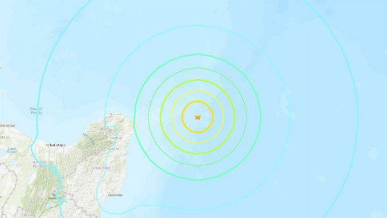 Chile estableció un estado de alerta por el tsunami de Nueva Zelanda