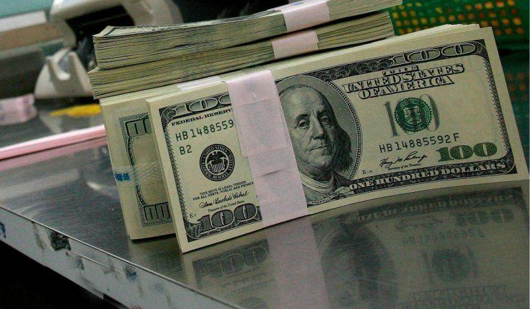 El dólar blue tuvo un descensodel 1