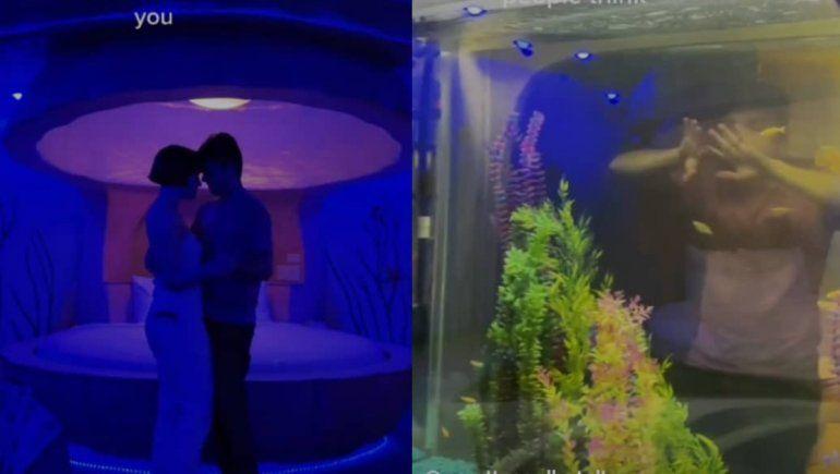 TikTok: mirá la exorbitante habitación de hotel que fascinó a todos. | Foto captura.