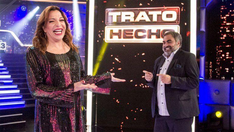 ¿Lizy debutó con trampa en Trato Hecho?