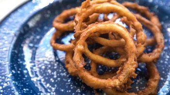 receta facil y rica: aros de cebolla