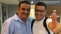 Miguel Serraiotto (Izquierda, qui junto a Maravilla Martínez en uno de los festivales que organizó en Plottier), dijo que pedirla la anulación de la asamblea.