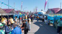 la primera edicion de la expo de salud cuidarte es un boom de gente