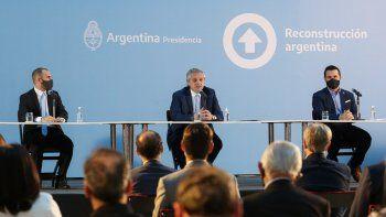 Fernández lanzó junto a las empresas el Plan Gas.Ar