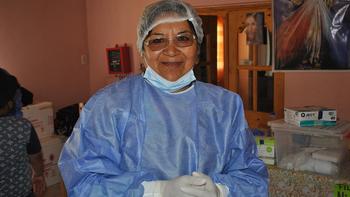 Genoveva, la agente sanitaria que salva vidas en los parajes