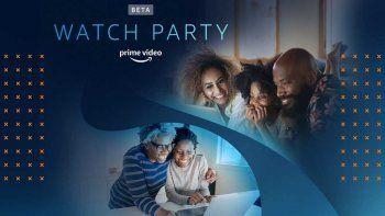 Amazon Prime innova con su función Watch Party