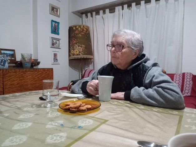 Beatriz dice que hay que comer de todo para llevar una vida saludable.