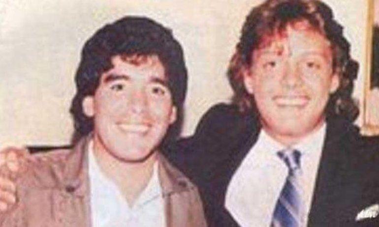 Diego buscó una particular manera de desquitarse cuando no tuvo una ubicación de privilegio en un show de Luis Miguel.