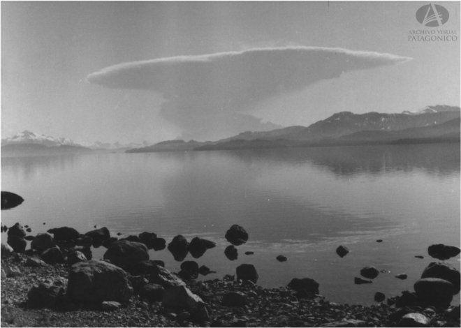 Erupción del volcán Puyehue.