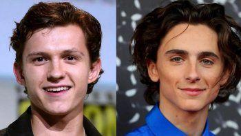 Tom Holland o Timothée Chalamet estarían en la mira para convertirse en Willy Wonka