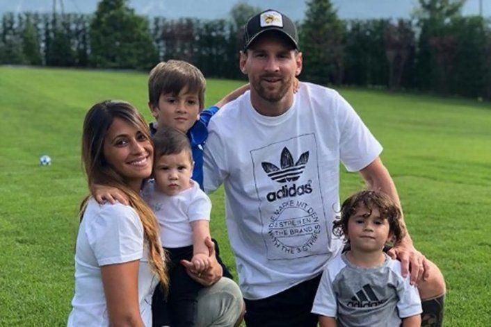 Afirman que los Messi estudian francés para irse al PSG