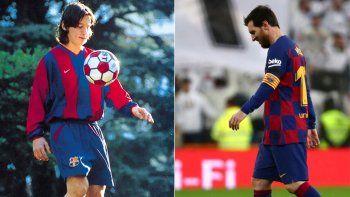 Del contrato en servilleta al burofax, los 21 años de Messi en Barcelona