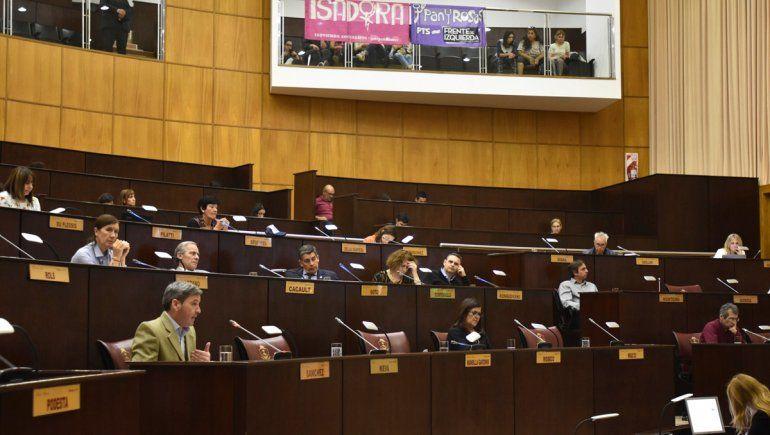 La Legislatura repudió el femicidio de Cielo López