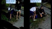 video: asi detuvieron al femicida de guadalupe en villa la angostura