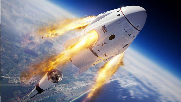Prueba exitosa para Orion, la nave que irá a la Luna