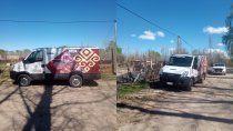 una camioneta robada de artesanias neuquinas aparecio en cipo