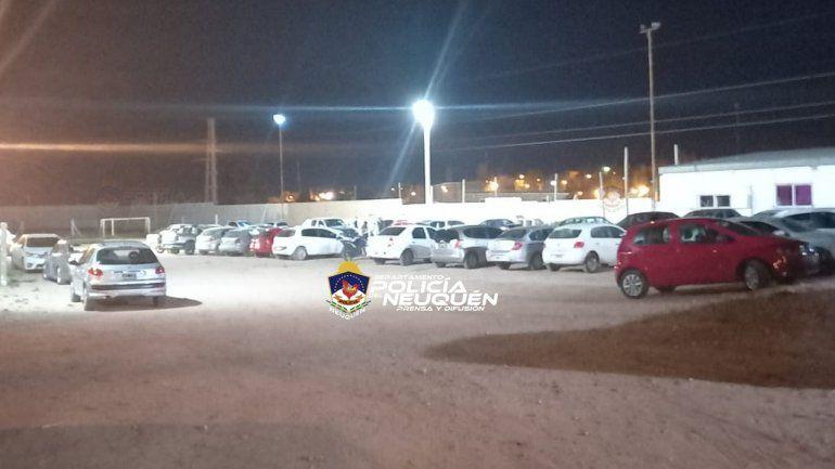 La Policía desactivó la fiesta en el club deportivo con mucha polémica.