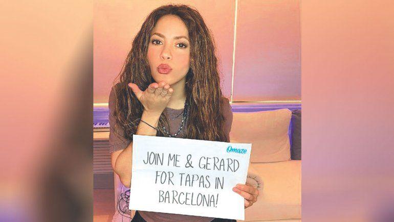 Un viaje solidario con Shakira