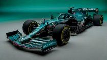 Aston Martin regresa a la Fórmula 1 en 2021 y lo hace con el AMR21.