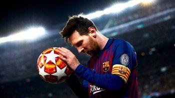 Messi está listo para su próximo juego con Barcelona