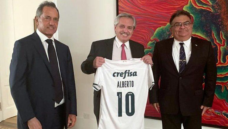 Alberto F. recibió a un hombre fuerte del gobierno de Brasil
