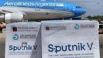 Las dosis de Sputnik V llegaron a la Argentina para la segunda tanda de vacunaciones.