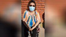 Una de las hijas del camionero se encadenó para que le den una cama de terapia intensiva.