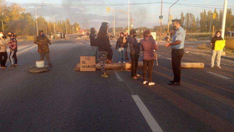 Vecinos de Plottier levantaron el corte sobre la Ruta 22