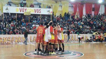 golpe al basquet neuquino: centro espanol se bajo de la liga