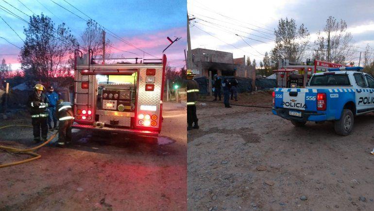 Casa quemada en Cuenca XV: dos continúan graves