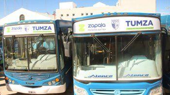 El lunes vuelve el colectivo urbano a Zapala