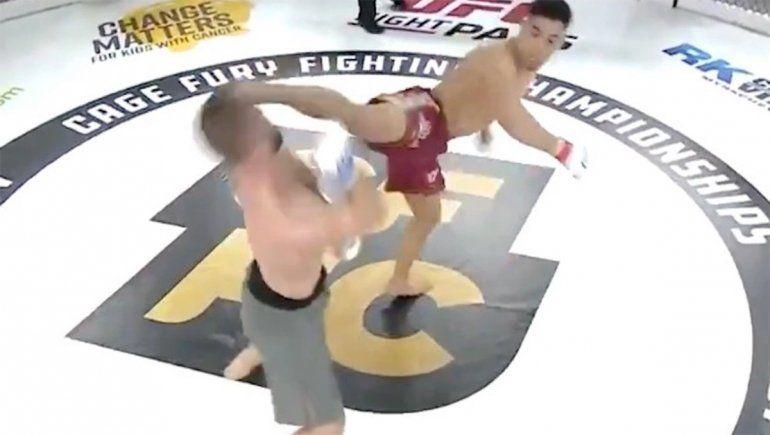 UFC: así fue el nocaut más impactante del fin de semana