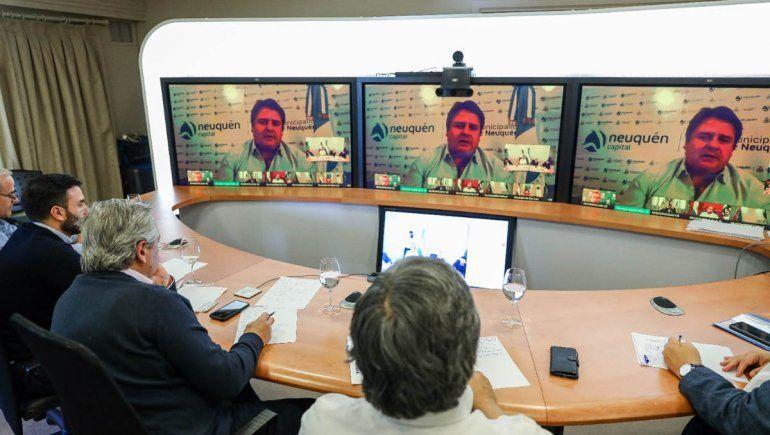 Gaido participó en teleconferencia con Alberto Fernández