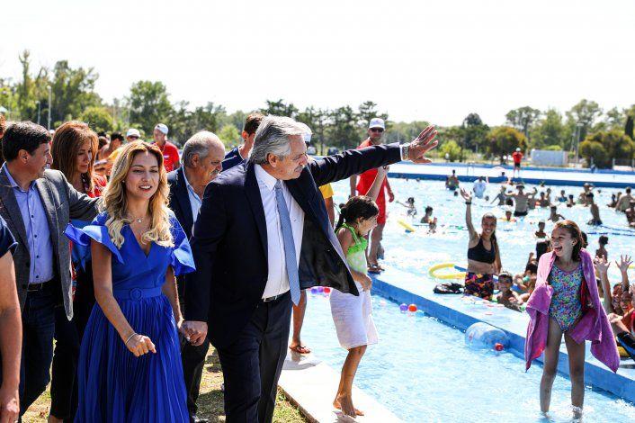 Alberto Fernández destacó la figura del ex presidente Néstor Kirchner.