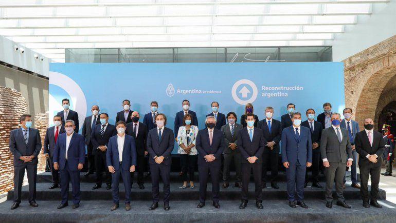 Alberto Fernández, a los gobernadores: Hay un país que nos reclama trabajar unidos
