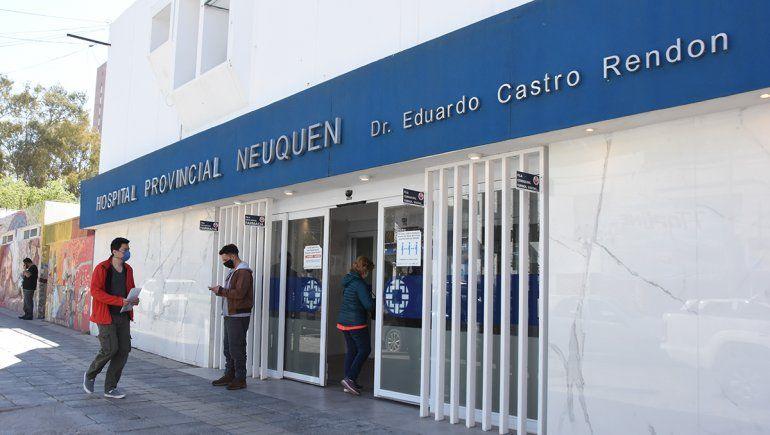 El abuelo Antonio Martínez sigue internado en grave estado en el hospital Castro Rendón.