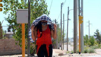 Arde la ciudad: Neuquén alcanzó los 39°C y es la más calurosas del país